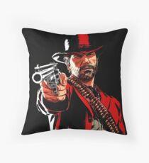 #REDDEAD Throw Pillow