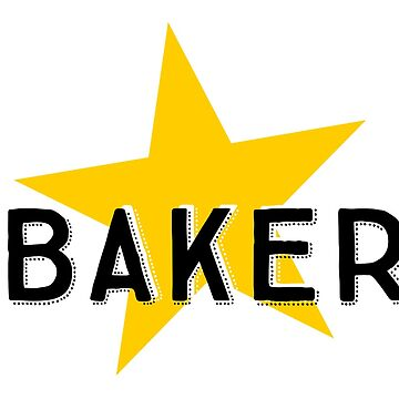 Star Baker, Great British Bake Off by shminoa