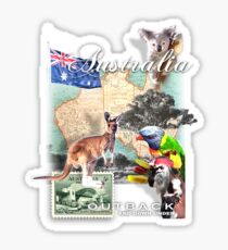 austraila Sticker
