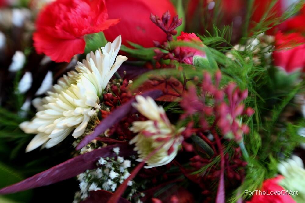 Christmas Flowers by ForTheLoveOfArt