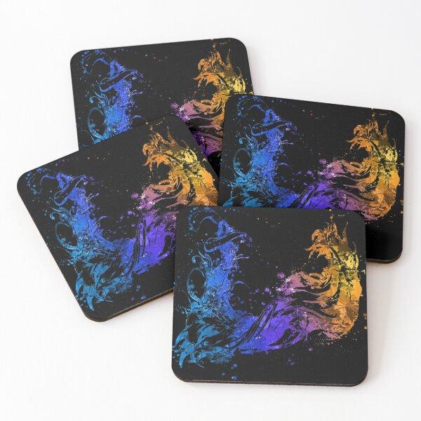 Final Fantasy X Splatter Coasters (Set of 4)