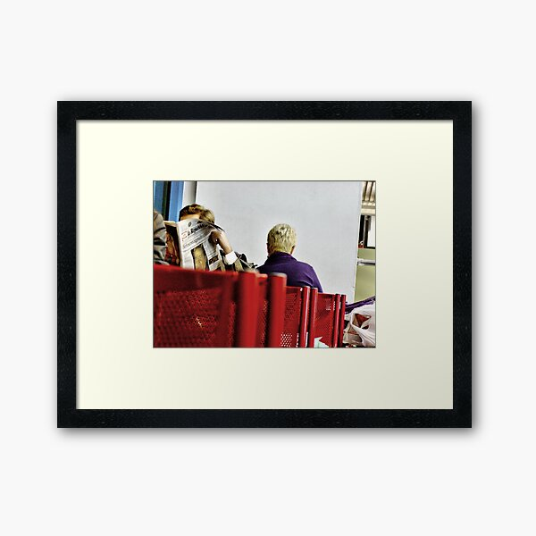launch of the Duomo Framed Art Print