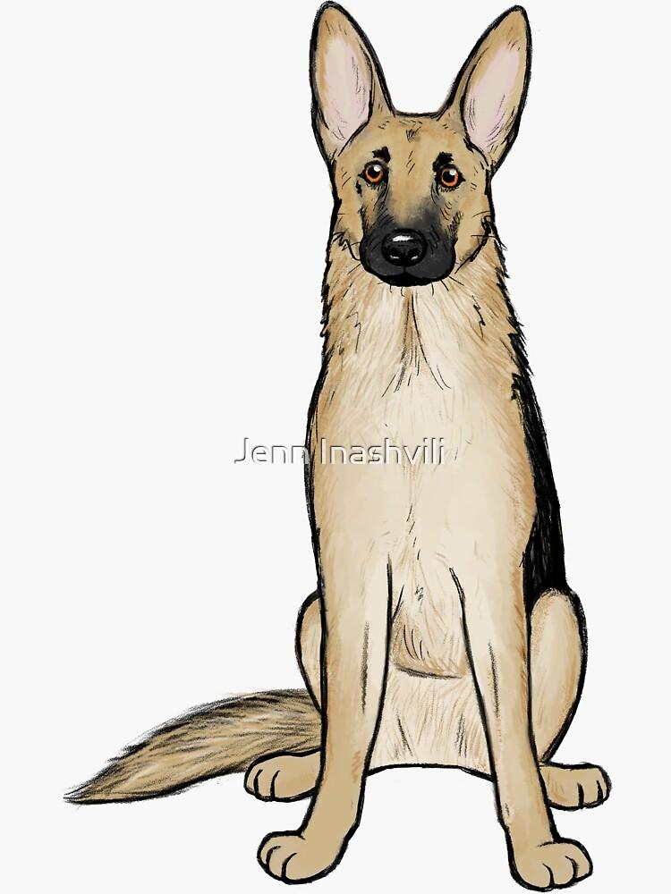 Deutscher Schäferhund von ShortCoffee