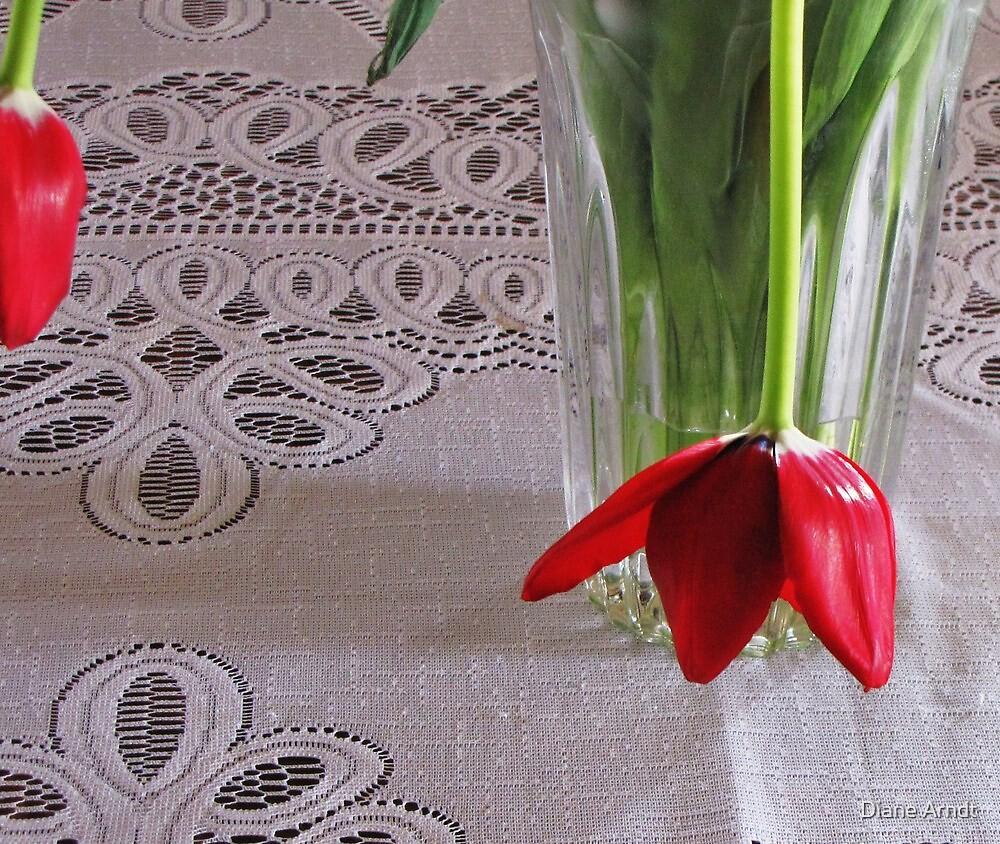 Sad Little Tulip by Diane Arndt