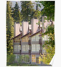 Lodges close to Lost Lake , Whistler , Canada Poster