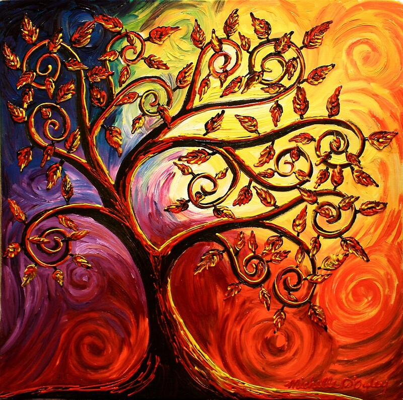 Quot The Tree Of Life Quot By Abstract D Oyley Redbubble