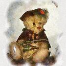 CHRISTMAS BEAR by mlynnd