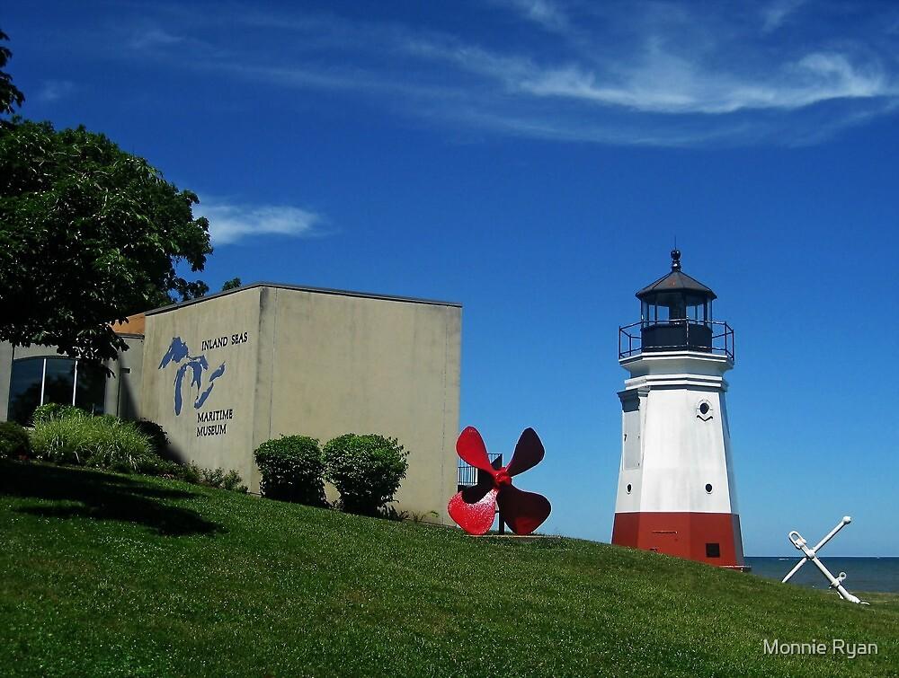 Vermilon Replica Lighthouse by Monnie Ryan