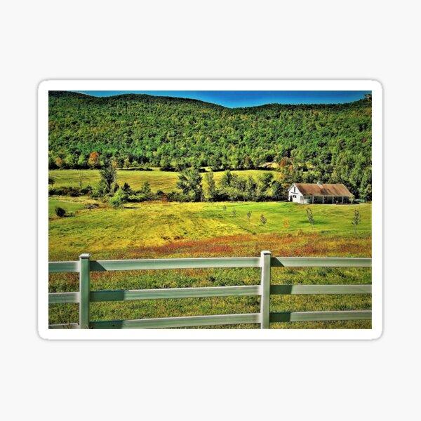 Somewhere in Vermont  Sticker