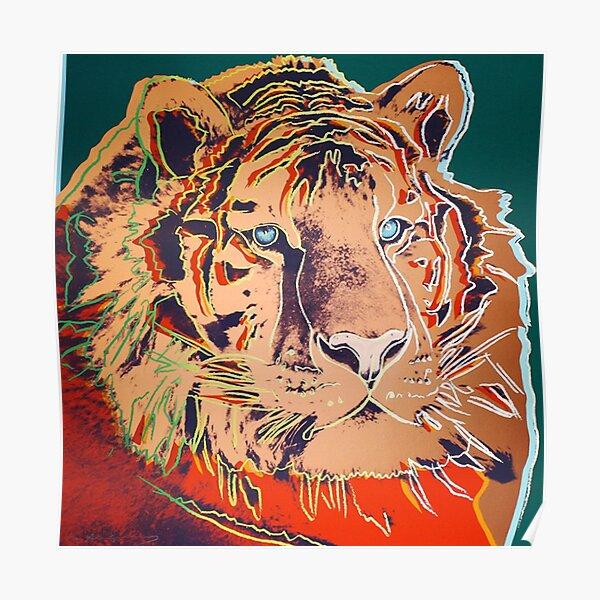 Siberian Tiger - Andy Warhol Poster
