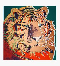 Siberian Tiger - Andy Warhol Photographic Print