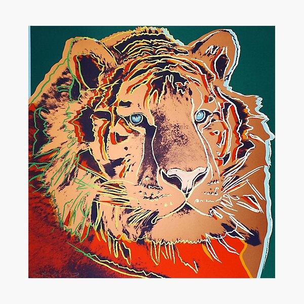 Siberian Tiger - Andy Warhol Photographic Print