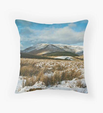 The Brecon Beacons Throw Pillow