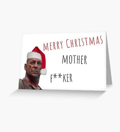 Feliz Navidad, Regalos, Regalos, Película, Película, Ofensiva, Guay, Loco, Loco, Mental, Malvado, Juramento, Tarjetas de felicitación Meme Tarjeta de felicitación