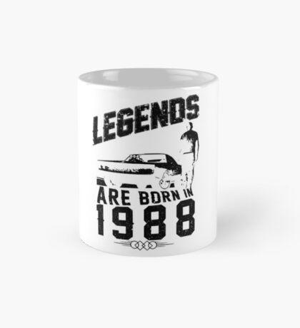 Legends Are Born In 1988 Mug