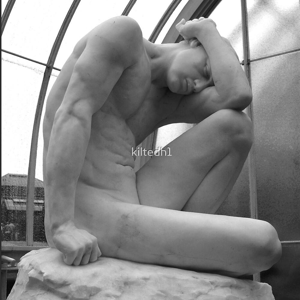 Male Sculpture, Kibble Palace, Glasgow by kiltedh1