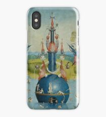 Hieronymus Bosch - Garden of Earthly Delights - Detail #3a iPhone Case/Skin