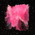 Pink Nebula Explosion by nickjaykdesign