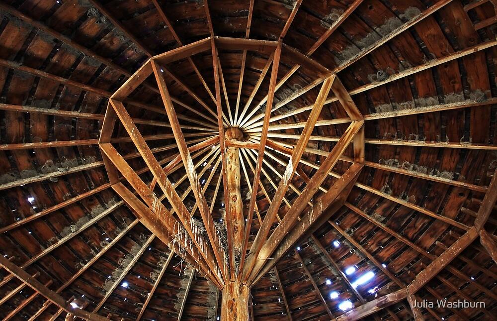 Round Barn  by Julia Washburn