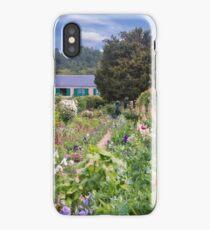 Claude Monet's House And Garden iPhone Case/Skin