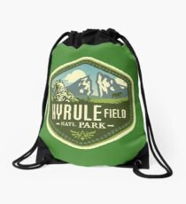 Hyrule National Park Drawstring Bag