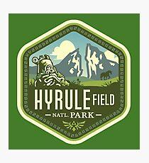 Lámina fotográfica Parque Nacional Hyrule