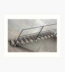 Stone Slab Steps Art Print