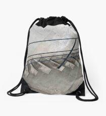 Stone Slab Steps Drawstring Bag