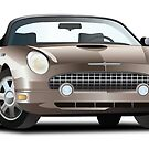 2002-2005 Ford Thunderbird Champagne by Big Kahuna