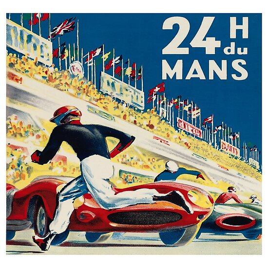 Vintage - 24 Hours of Le Mans (24 H du Mons) by Chunga