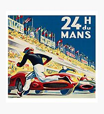 Vintage - 24 Hours of Le Mans (24 H du Mons) Photographic Print