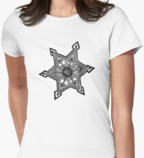 D20130522 Doodle Tattoo Women's Fitted T-Shirt