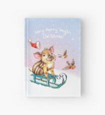 Vegan Christmas by Maria Tiqwah Hardcover Journal