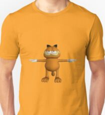 Garfield T-Pose Slim Fit T-Shirt