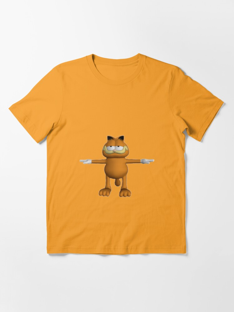 Garfield T Pose T Shirt By Jakeebler Redbubble