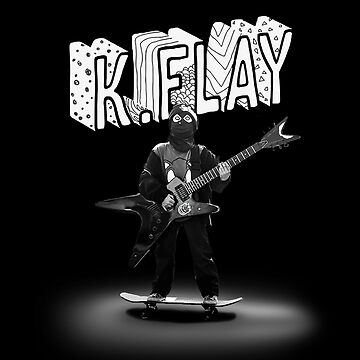 K.Flay Black and White Dark by nathancowle