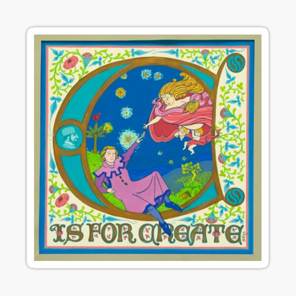 C is for Create Sticker