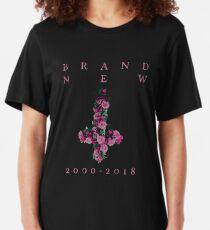 Brand New Farewell Cross Slim Fit T-Shirt