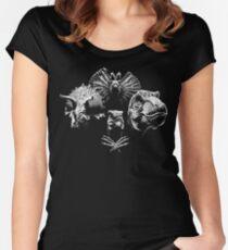 Jurassic Rhapsody Women's Fitted Scoop T-Shirt