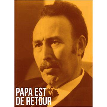Houari Boumédiène: Papa Est De Retour - Lcrim T-shirt by drakouv