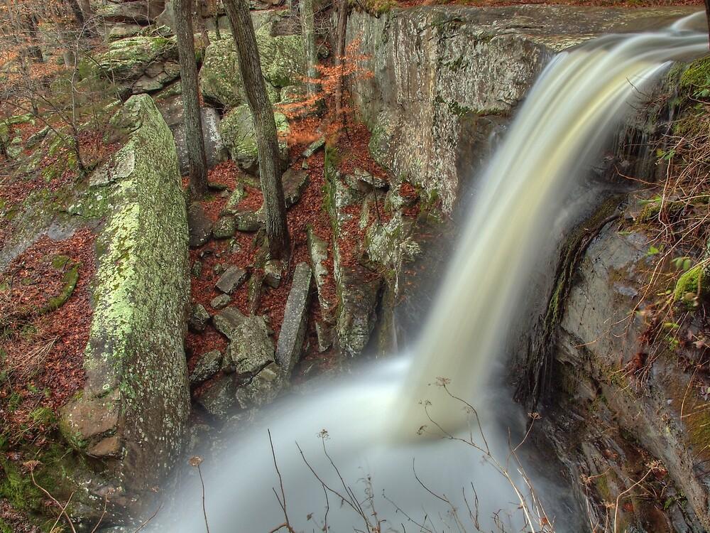 Lower Burden Falls by David Allen
