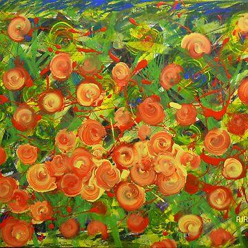 """Orange Bouquet"" by Dloneger"