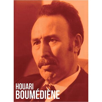 Houari Boumediene T-shirt by drakouv