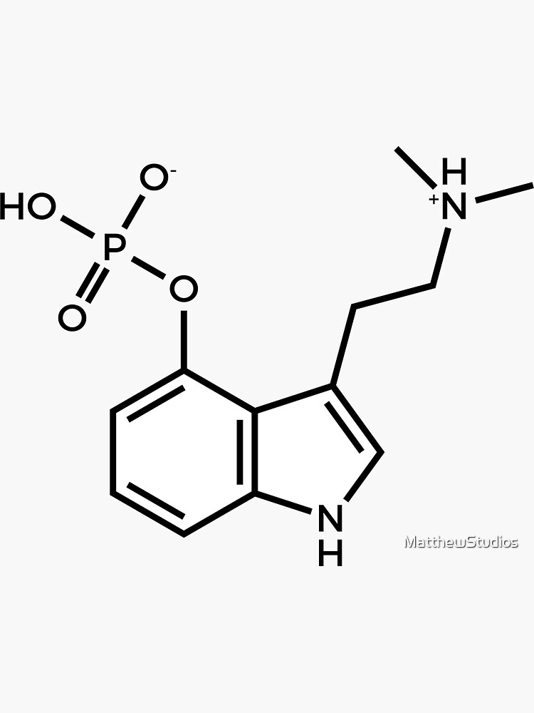 Psilocybin Molecule by MatthewStudios