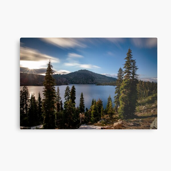 Long Lake 2 Metal Print
