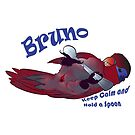 Bruno Lori Keep Calm and Hold a Spoon by Perroquets  En Folie