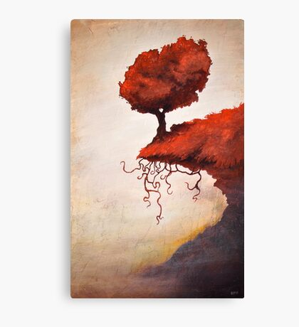 The Optimistic Crag Canvas Print