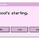 Schule beginnt von ericleeart