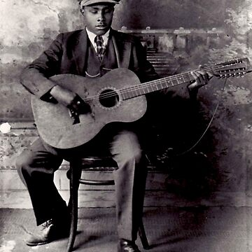 Blind Willie McTell by nodeeperblue