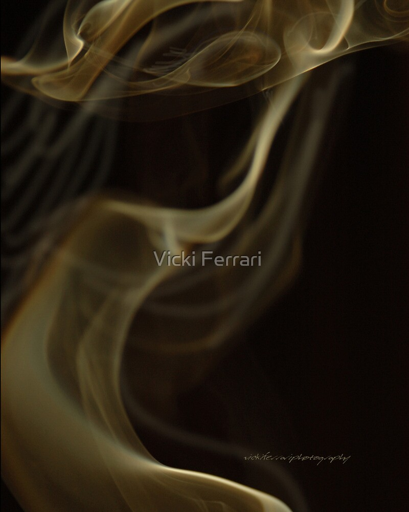 Lady In The Smoke © Vicki Ferrari Photography by Vicki Ferrari